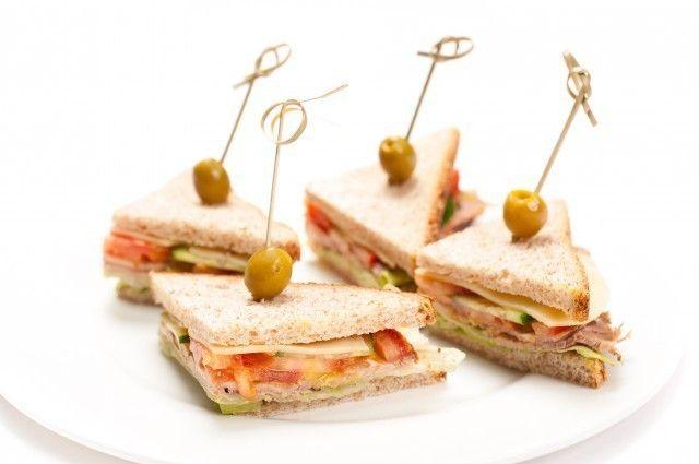ёКейтеринг Мини-сэндвичи с бужениной