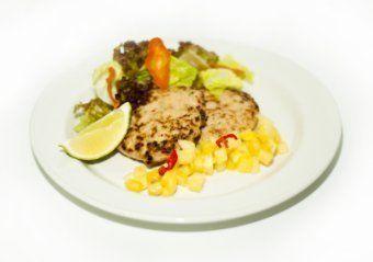 Easy Meal Бургер из индейки с сальсой ананаса