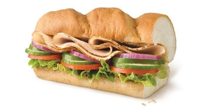 Доставка еды Сэндвич с индейкой