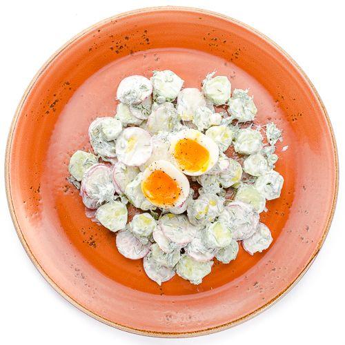 5642 Высота Салат из свежих овощей с яйцом