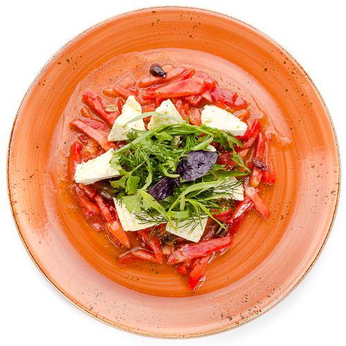 5642 Высота Салат из помидоров с домашним сыром