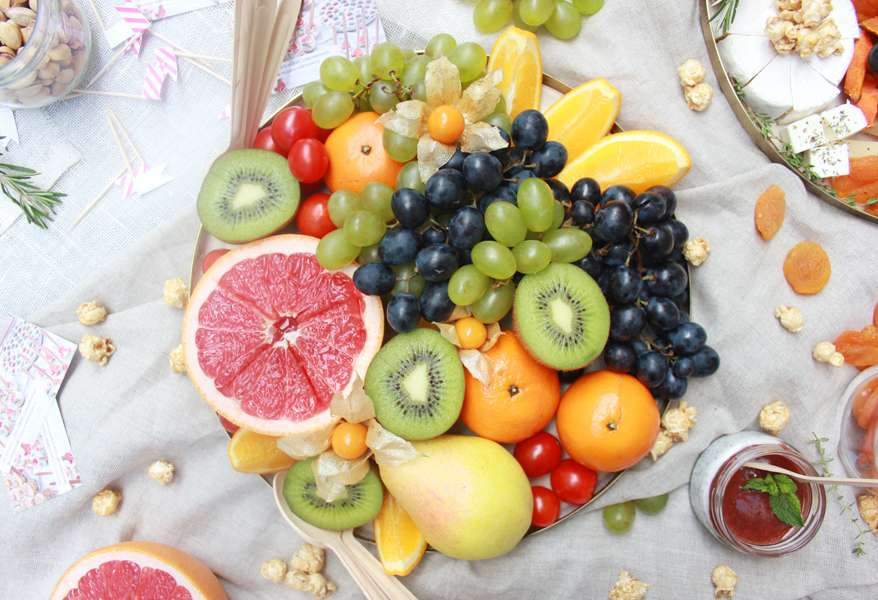 Bankatering Поднос с фруктами