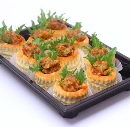 Ministerstvo Catering Company Овощной рататуй в валоване из французского теста