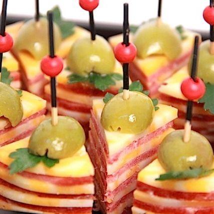 Ministerstvo Catering Company Дуэт итальянской салями и мраморного сыра