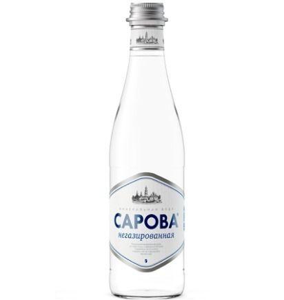 Ministerstvo Catering Company Минеральная вода «Сарова» в стеклянной бутылке