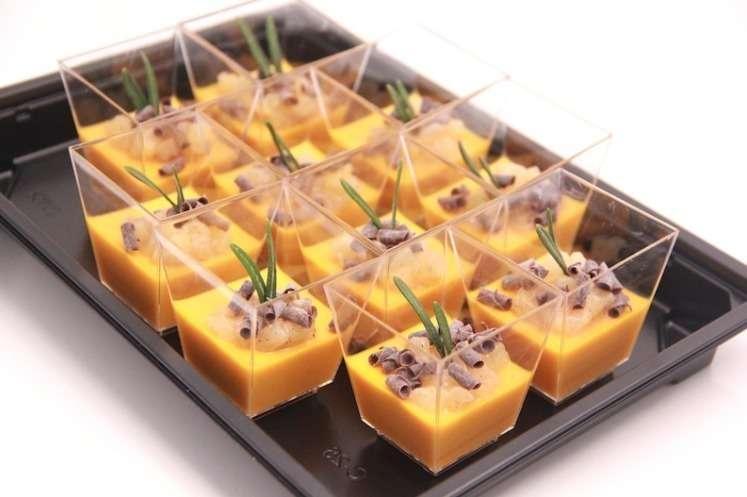 Ministerstvo Catering Company Панакота Облепиха-морковь