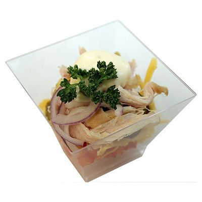 МосФуршет Салат с копченой курицей
