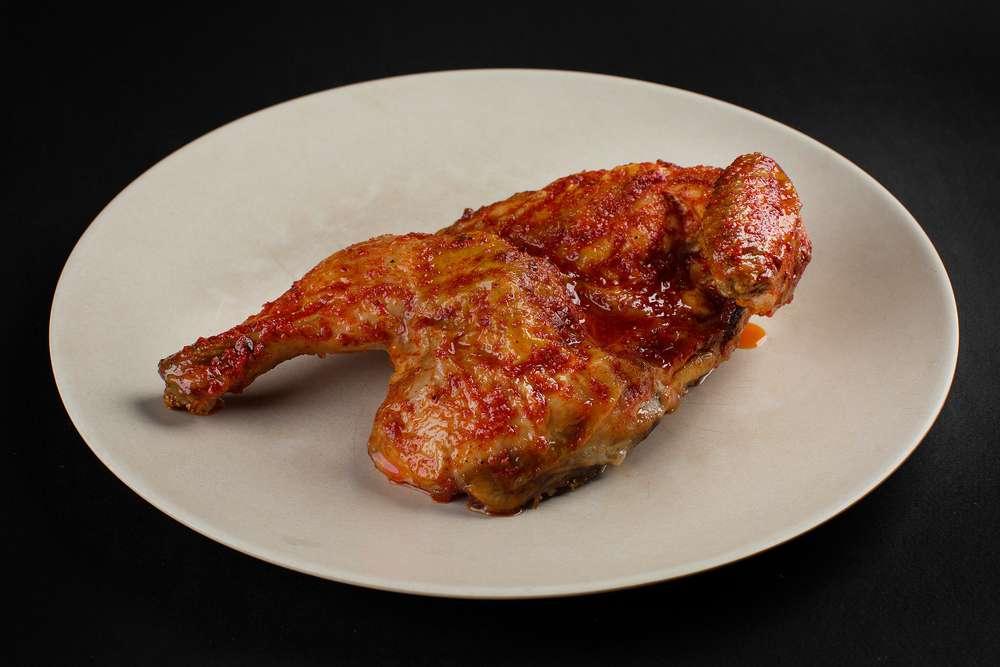 Вай мэ! Половина курицы по-мегрельски