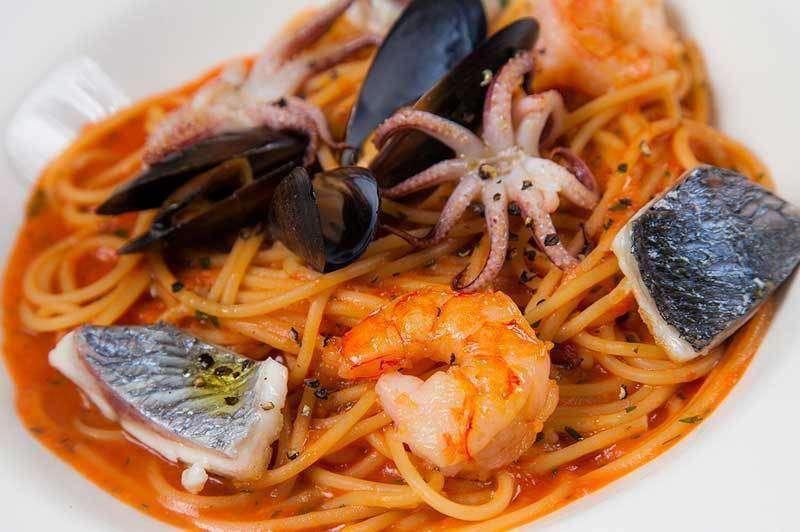 il Forno Спагетти с морепродуктами