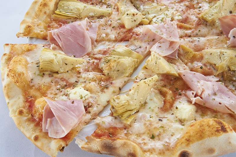 il Forno Пицца с артишоками