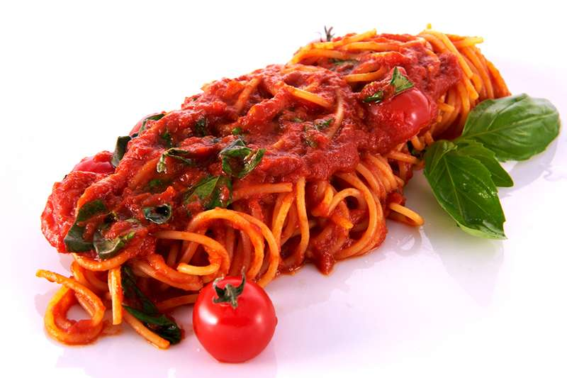 Лимончино Спагетти с помидорами