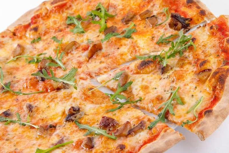 Лимончино Пицца с белыми грибами