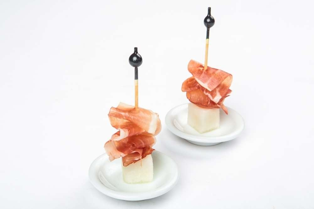 Il Giorno Catering Пармская ветчина с дыней