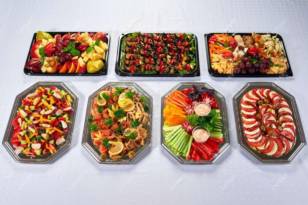 Cote Catering Ассорти плато «Вегетарианское»