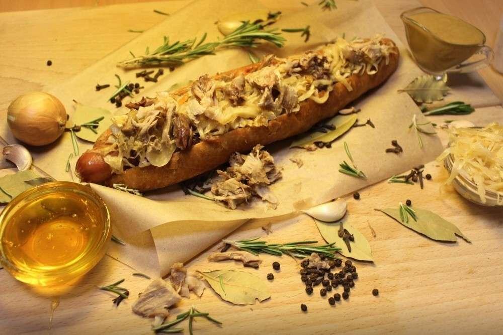 Hot doggy dog Хот-дог «Для папы»