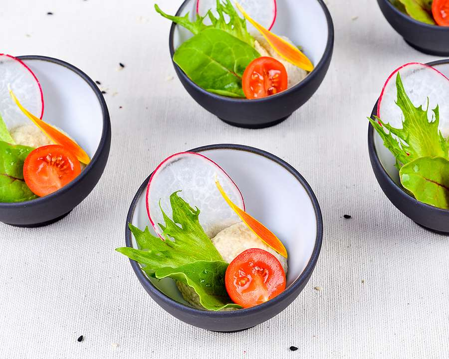 ёКейтеринг Мусс из баклажан с овощами