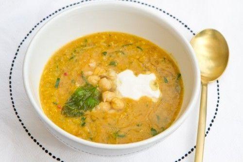 Тажин Вегетарианский суп из нута с кумином