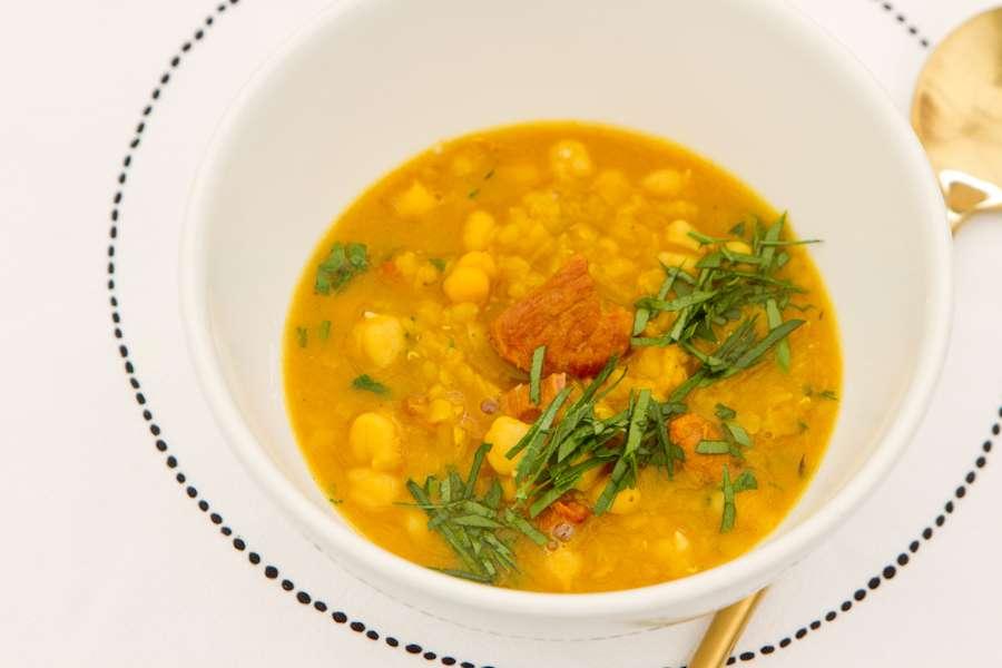 Тажин Традиционный суп харира