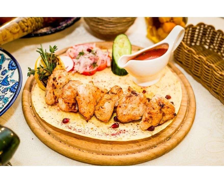 Добрый грузин Шашлык из куриного филе