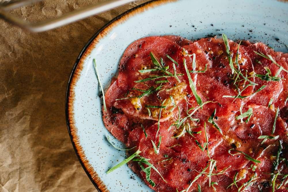 Craft Kitchen Карпаччо из говядины