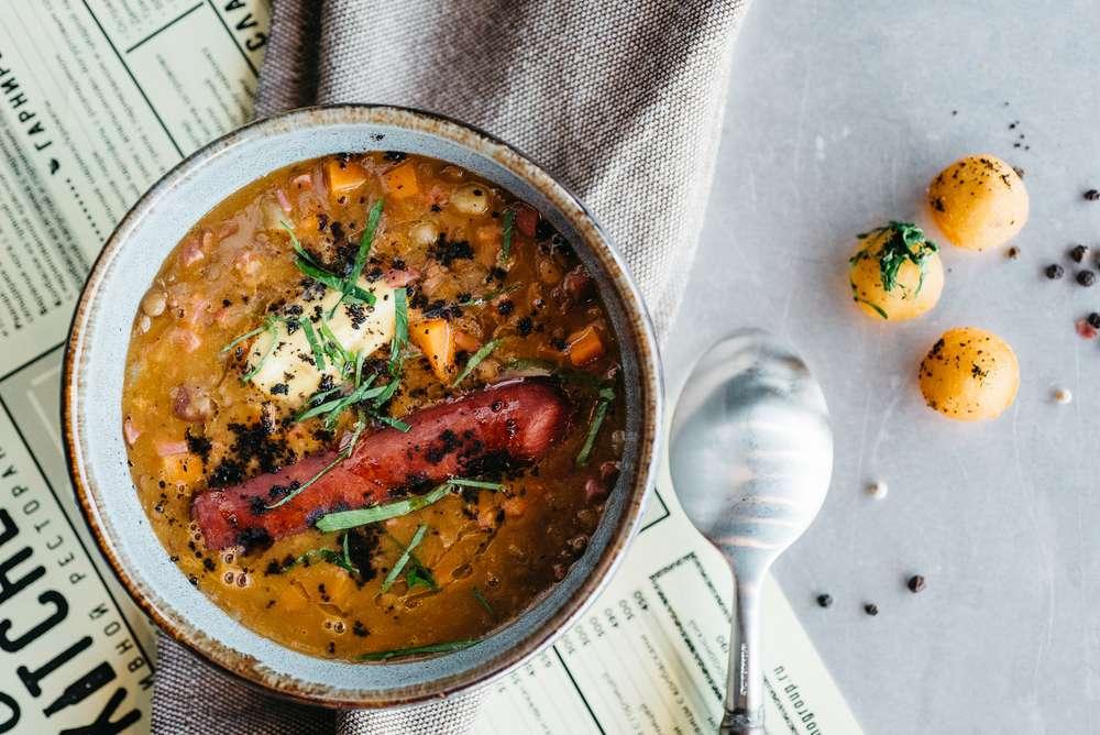 Craft Kitchen Густой суп из чечевицы