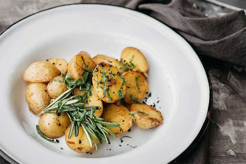 Craft Kitchen Запеченный картофель с розмарином