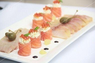 Ministerstvo Catering Company  Плато с ассорти из северных рыб