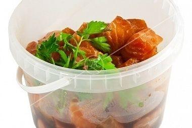 Ministerstvo Catering Company Шашлык из филе лосося