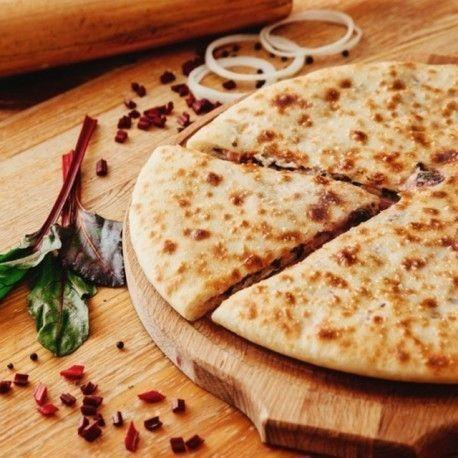 Кулинаръ Осетинский пирог с листьями свеклы и сыром