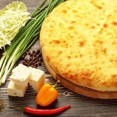Кулинаръ Осетинский пирог с капустой и сыром Кабушкаджын
