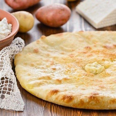 Кулинаръ Осетинский пирог с картофелем и грибами