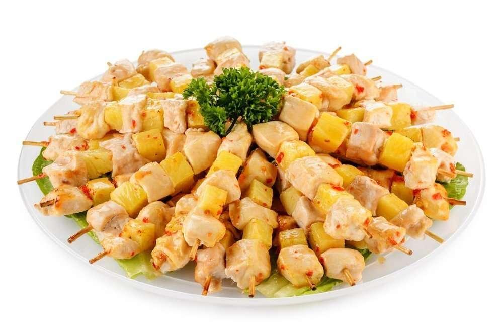 Kostis Куриные шашлычки с ананасом