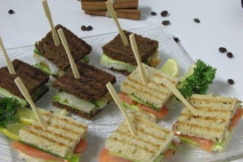 Villaggio fest Мини-сэндвич с сёмгой