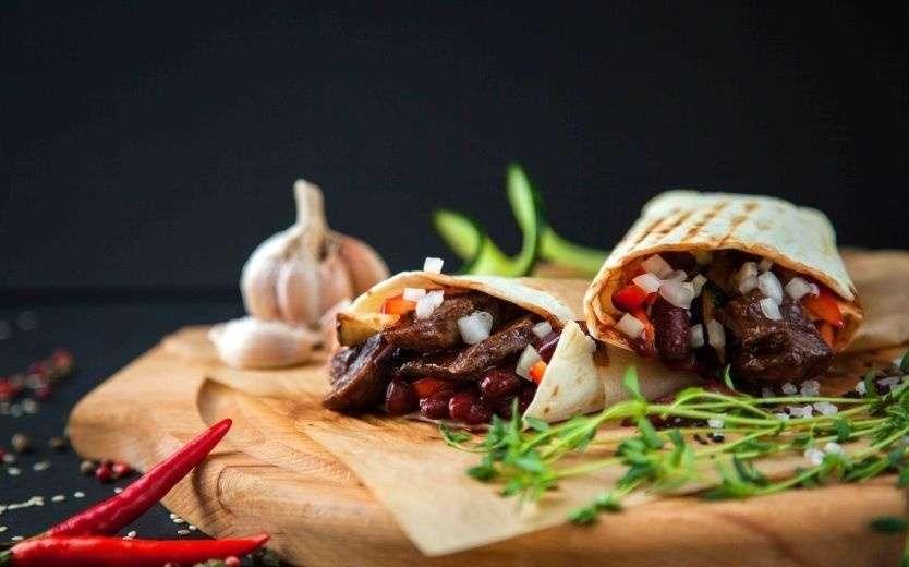 Tortilliano Rolls Буррито с говядиной