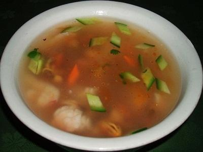 Ян Гон Суп из морепродуктов