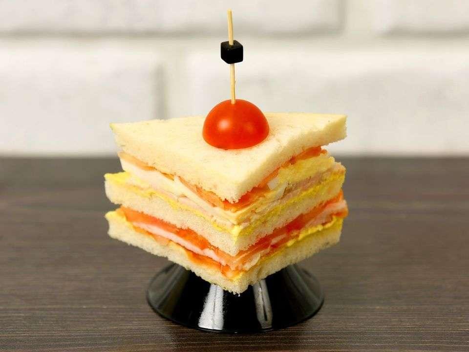 Лаборатория Вкуса Сэндвич с индейкой