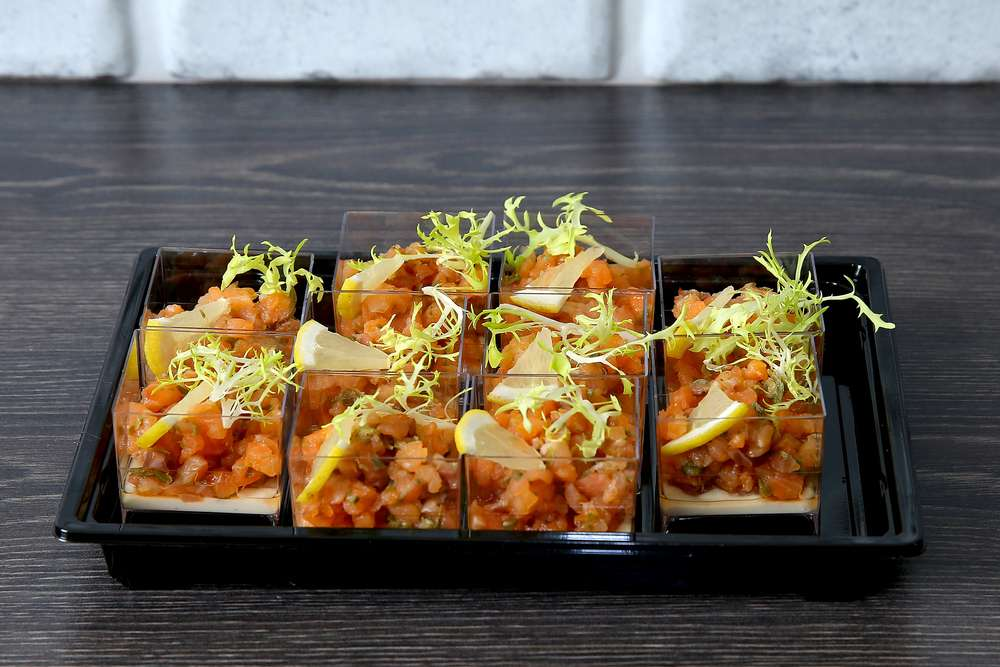 Лаборатория Вкуса Тартар из семги