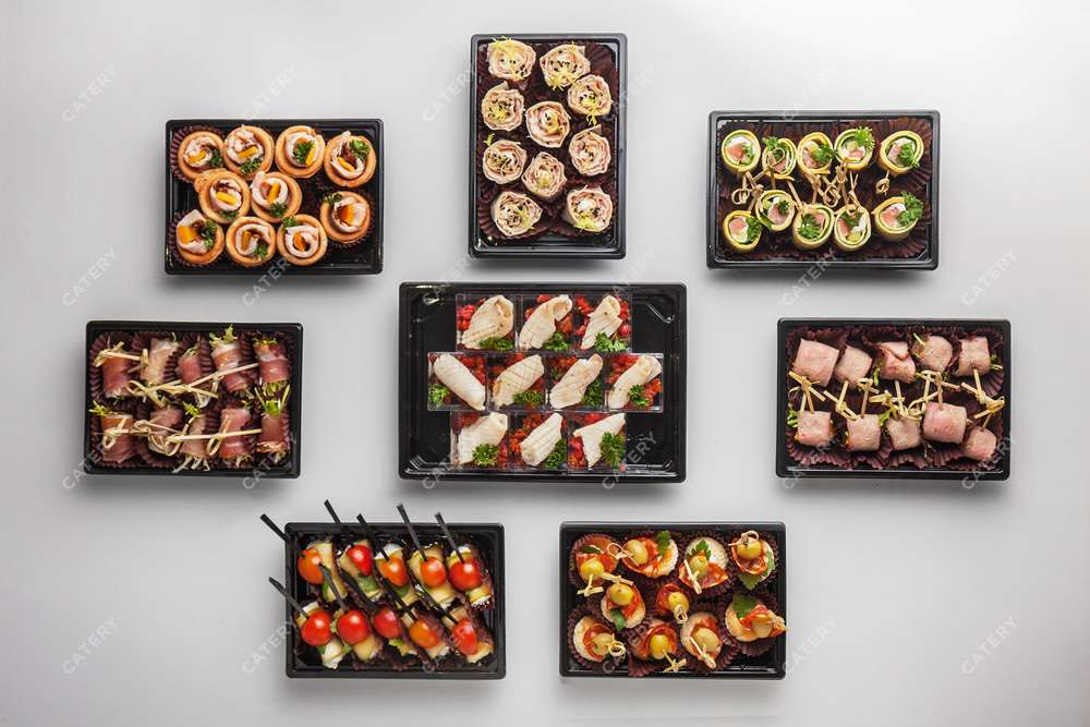 Tasty Catering Ассорти закусок «Встреча»