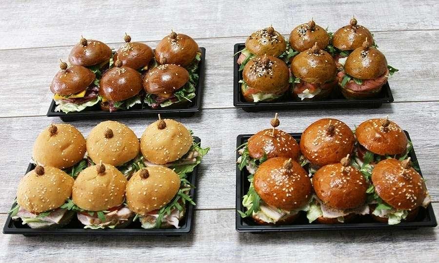 Vkusnoff Catering Мини-бургер сет №2