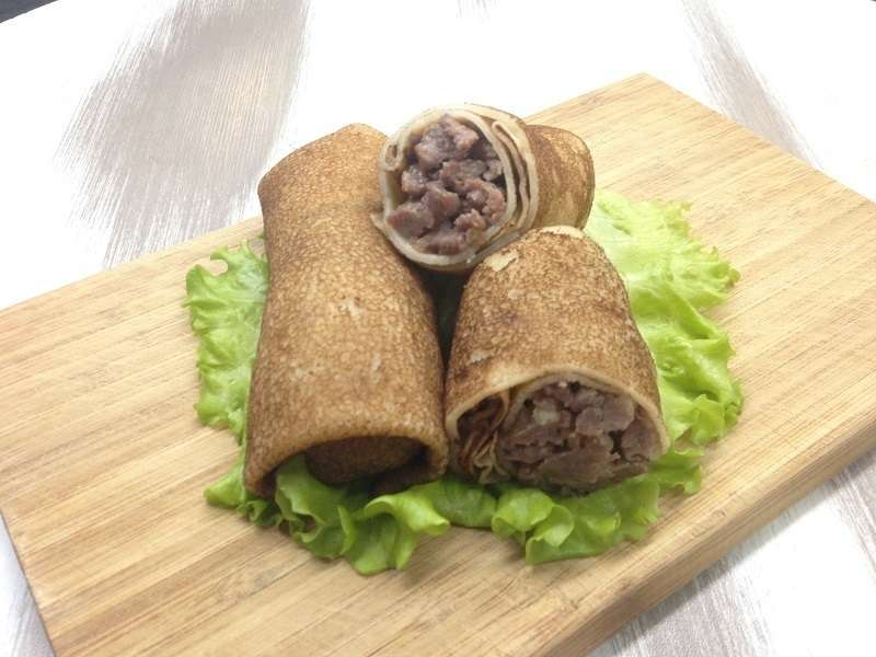 Canape24 Блины с мясом