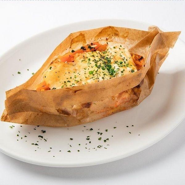 Ваби Саби Треска под сырным соусом
