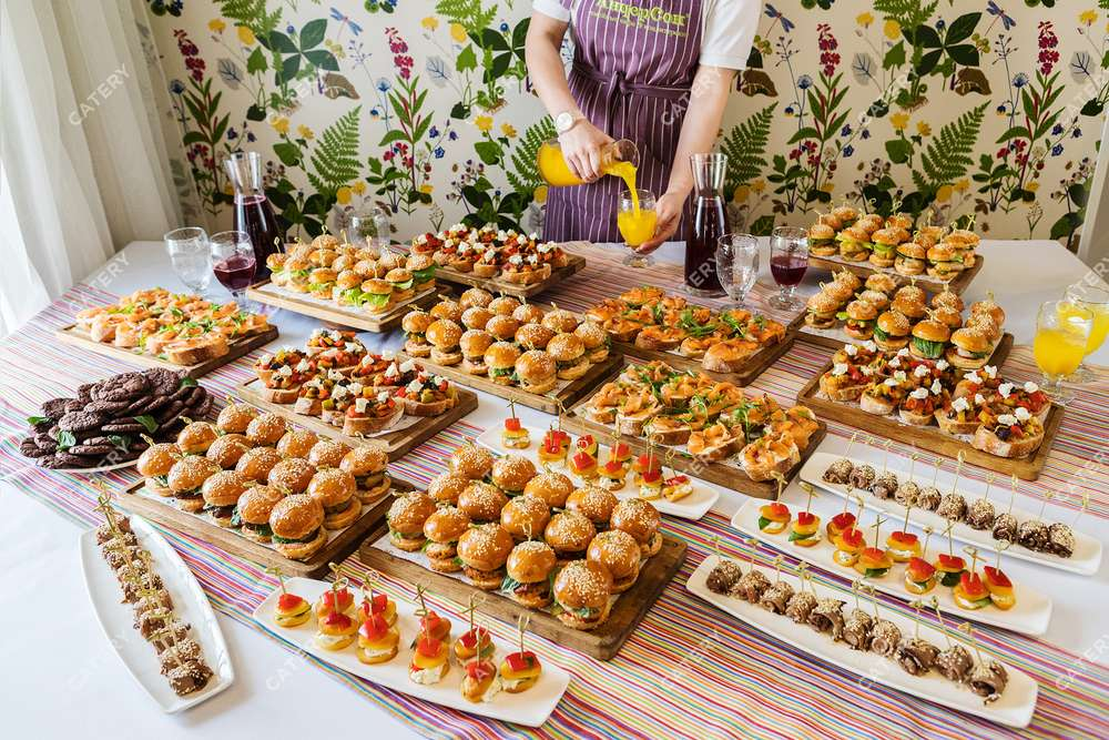 Андерсон Фуршетный сет с бургерами