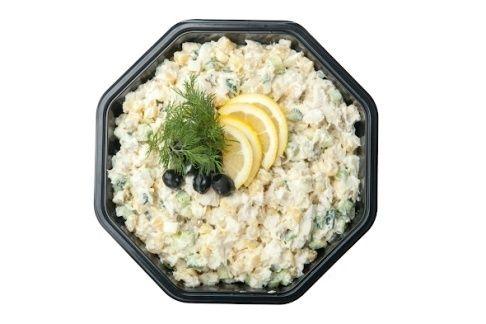 Арт Нуво Кейтеринг Рыбный салат с отварной треской