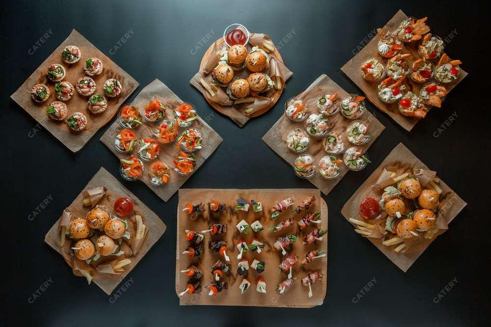 Tortilliano Rolls Фуршетный сет с бургерами Макси