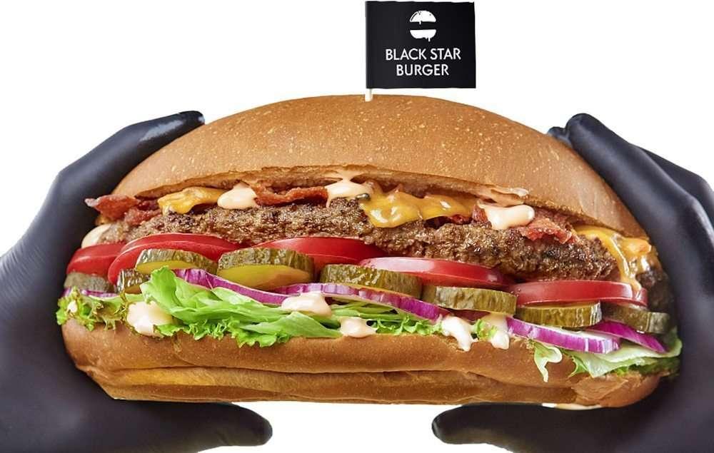 Black Star Burger Catering Блэк Стар Бургер «Мегабургер»