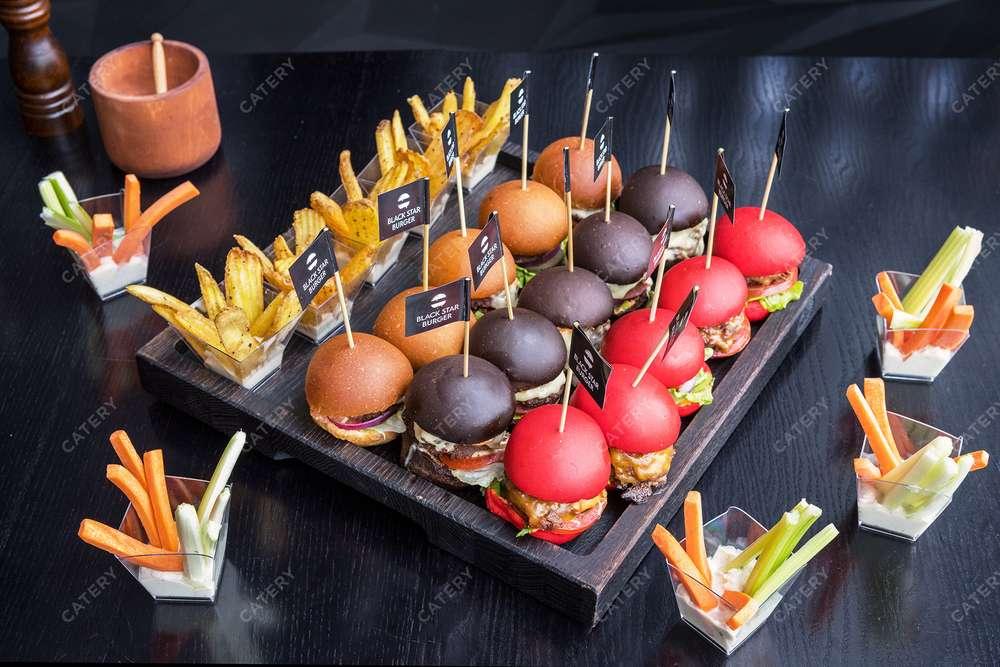Black Star Burger Catering Сет мини-бургеров Mini