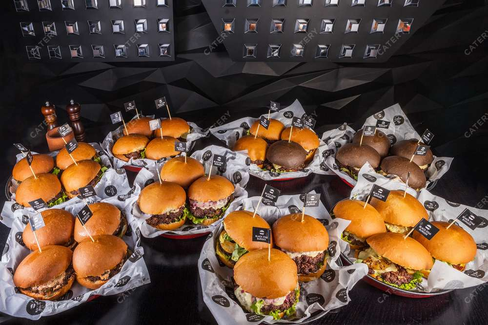 Black Star Burger Catering Бургер-сет L