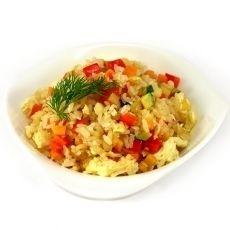 Мангал №1 Рис с овощами