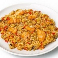 Мангал №1 Рис с морепродуктами