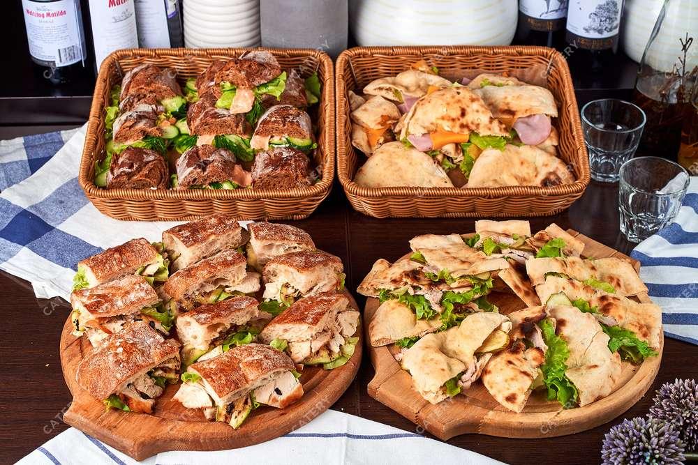Semplice Catering Кофе-брейк с сэндвичами
